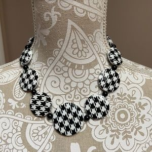 Houndstooth Necklace - Roll Tide